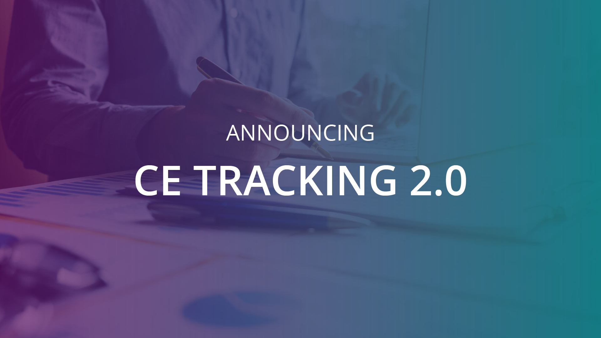 New Continuing Education Tracking